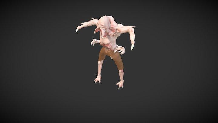 Necromorph 3D Model