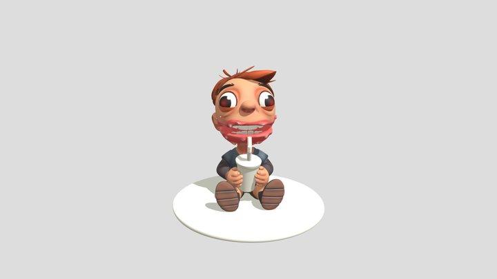 3D Modelling based on Maxgrecke concept art.. 3D Model