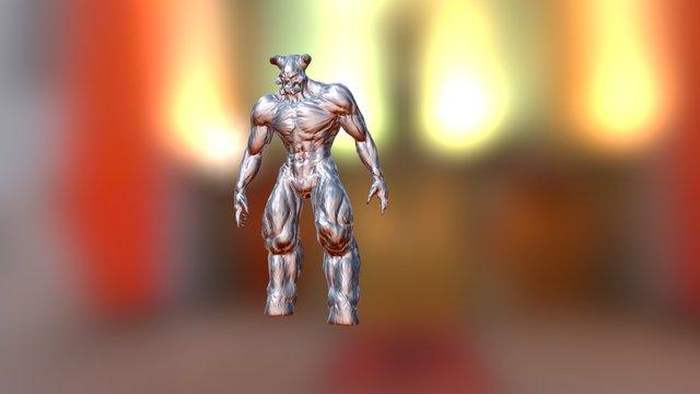 Baron Sighted Roar 3D Model