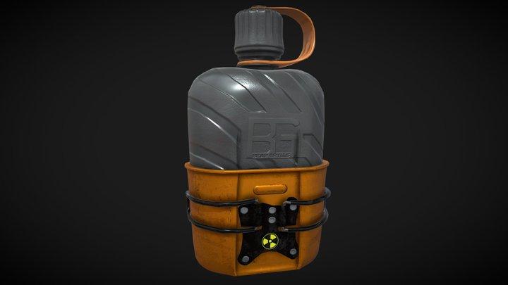 Bear Grylls Canteen by Patrick Murray 3D Model