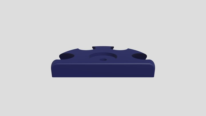Femel ball joint for 4 connections domekit 3D Model