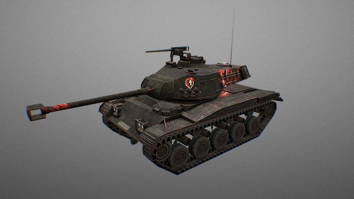 LEKPZ M41 90 Cruel Twist 3D Model