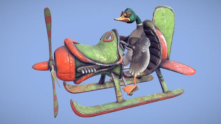 Duck Ship 3D Model