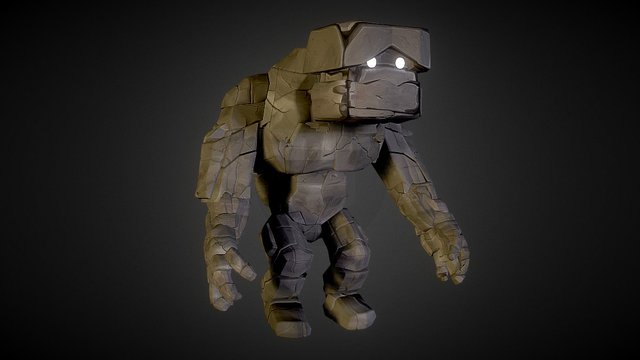 Tally the stone giant 3D Model