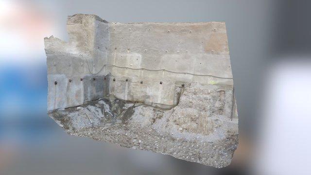 Baugrube 3D Model