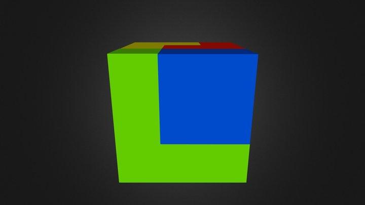 Puzzle Cube Website 3D Model