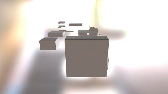 PC Model 3D Model