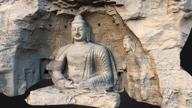 Yungang Cave 20 3D Model