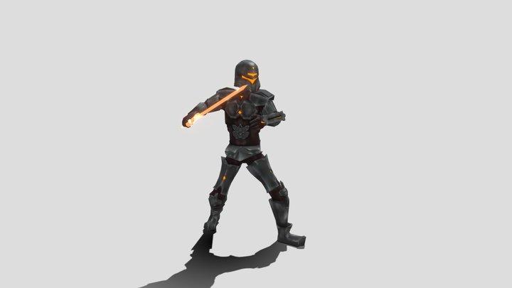 BossBoi_Defend2_Animation_LucaNaselli 3D Model