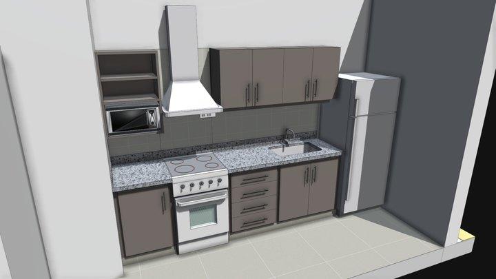 Cocina Taller 3D Model