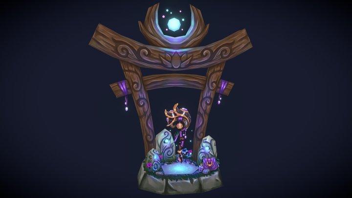 Moonwell's Gift 3D Model