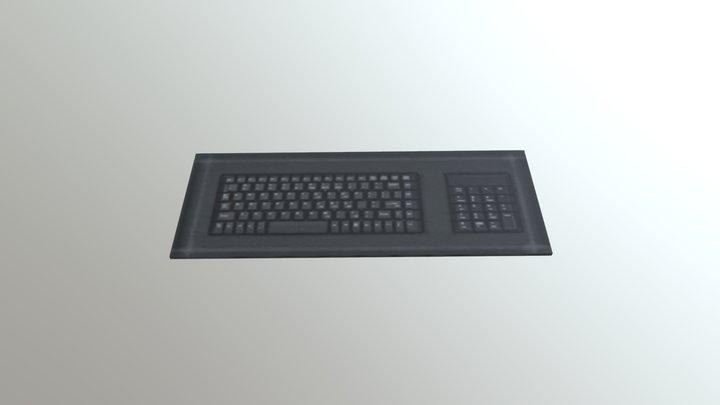 SCP Keyboard 3D Model
