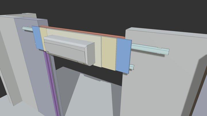 Control WIndow 02a 3D Model