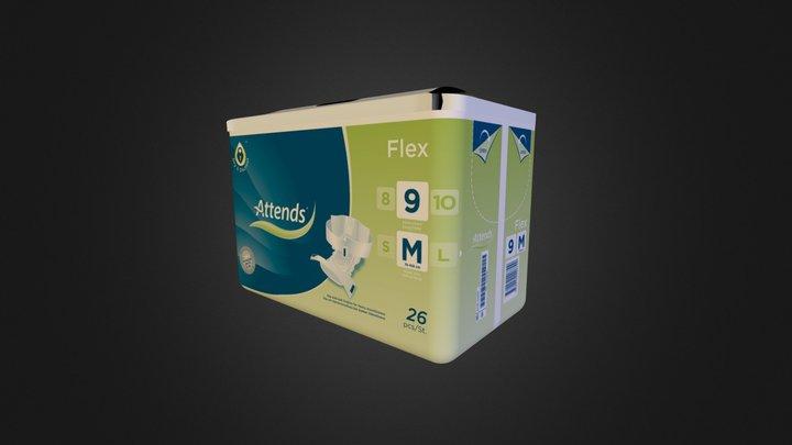 Attends Flex 9M 3D Model