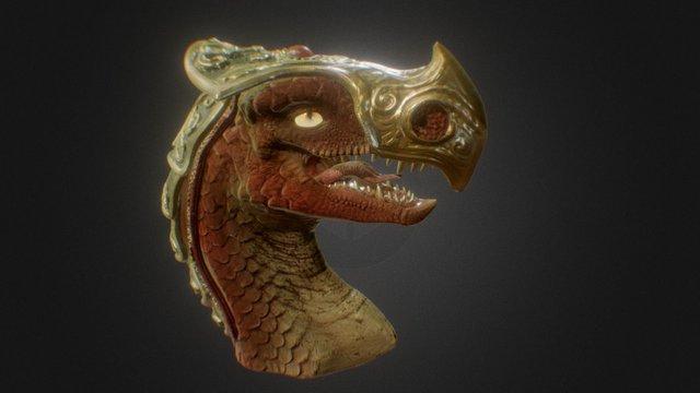 DragonArmor_LF 3D Model