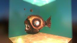 piranha 3D Model