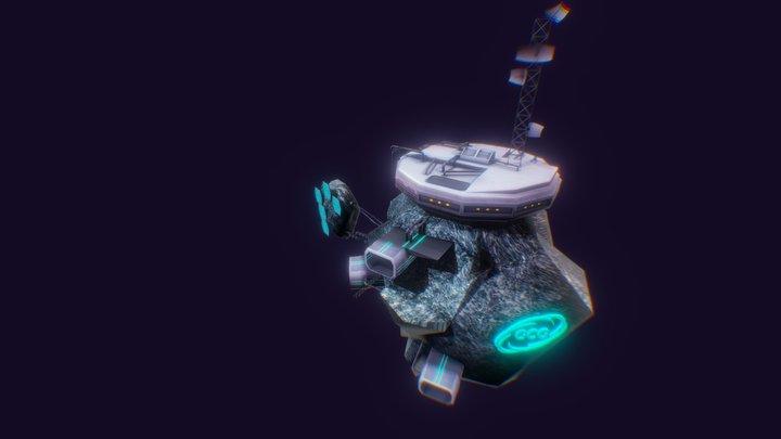 Station GCG 3D Model