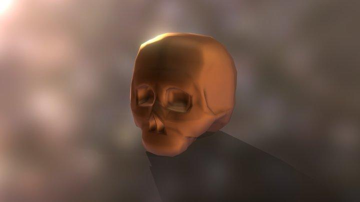 Skull-like Token 3D Model