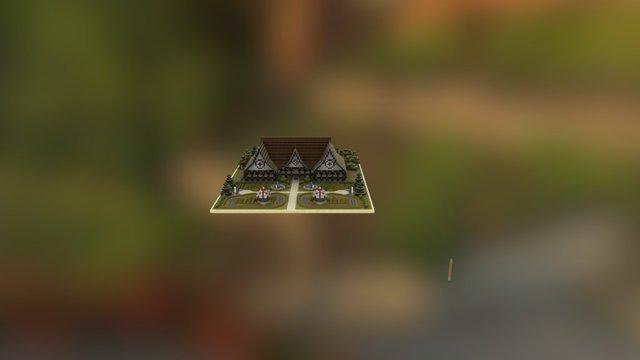 Haunted Mansion (InchiBattle [1.8] [v2.0]) 3D Model