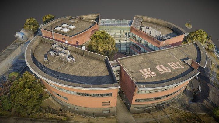 Kashima Townhall 嘉島町役場 3D Model
