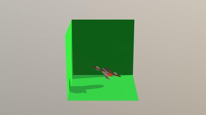 Drone Display 3D Model
