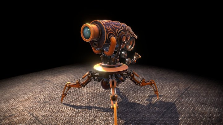 robot+animation 3D Model