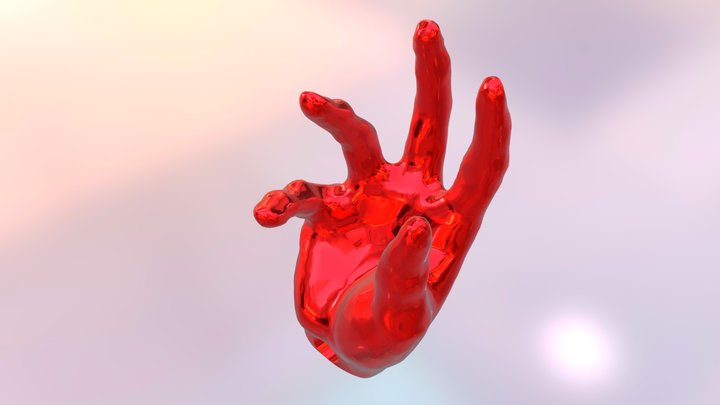 Designer Dojo Hand 3D Model