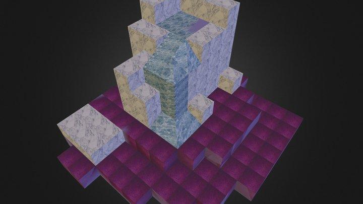Cube_God-research-extrait.kmz 3D Model