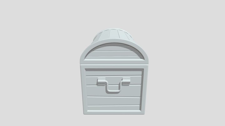 Chest HP Sub 3D Model