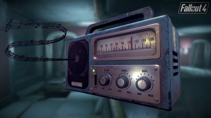 Fallout 4 Radio 3D Model