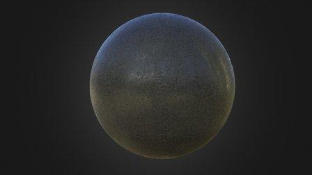 Material Study-PBR-sphere_03 3D Model