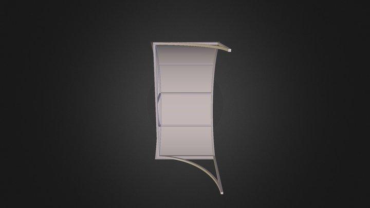 Козырек L=2300 3D Model