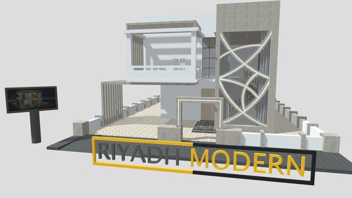 """Modern Home 7 """"Developer"""" 3D Model"""