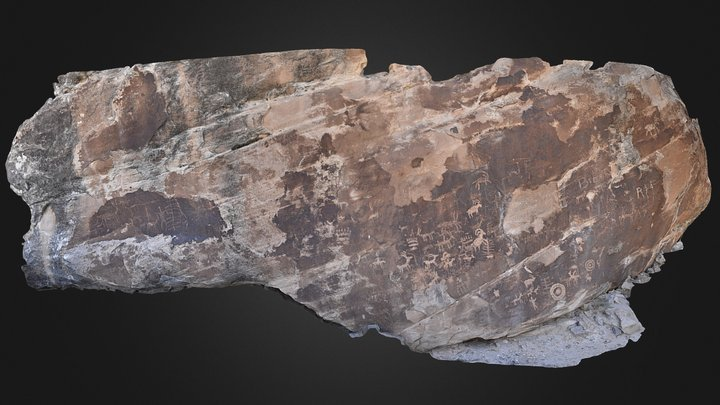 Petroglyph Panel Mesa Co