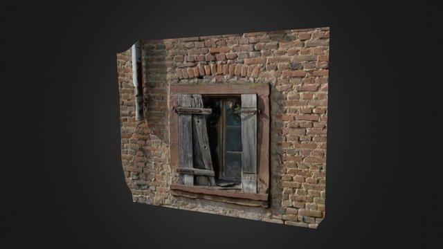 Ruined Window 3D Model