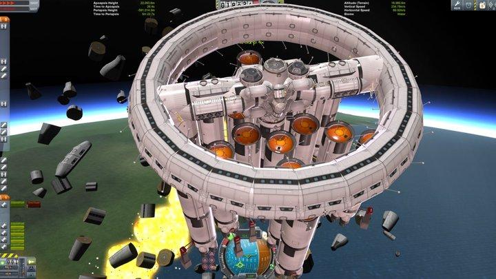 Ring Station 5 3D Model
