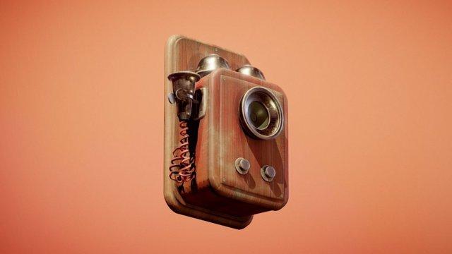 Doctor Who - Tardis Phone 3D Model