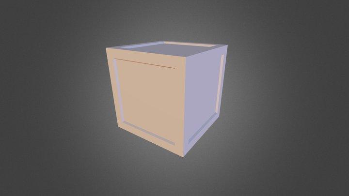 Rusted Box 3D Model