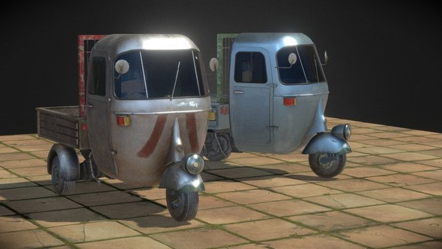 Unique Vehicle 3D Model