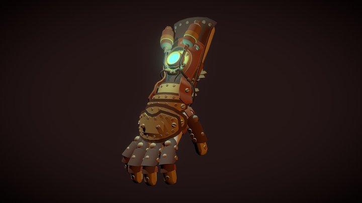 Steampunk glove_DRAFT 3D Model