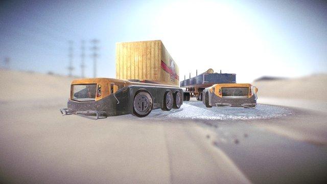 N. Vi. Ve.  truck 3D Model