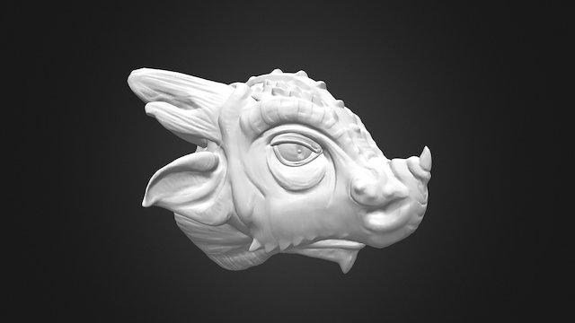 Old Dragon 3D Model