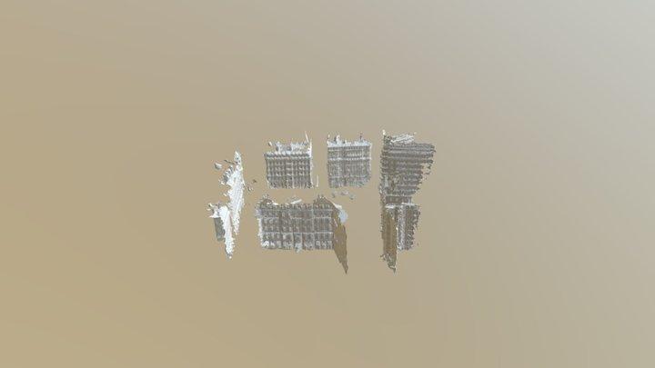 Place des jacobins, Lyon, France 3D Model
