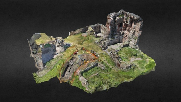 Ardrossan Castle Excavation 3D Model