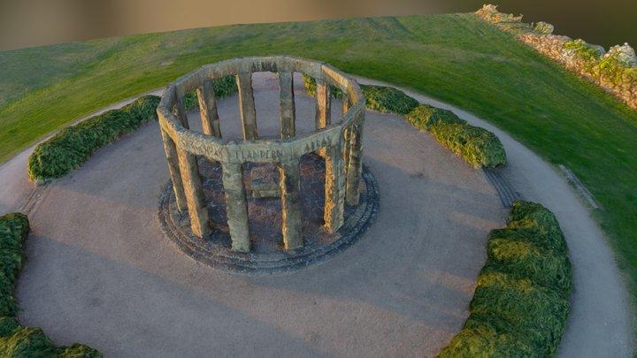 die Hünenborg in Rheine 3D Model