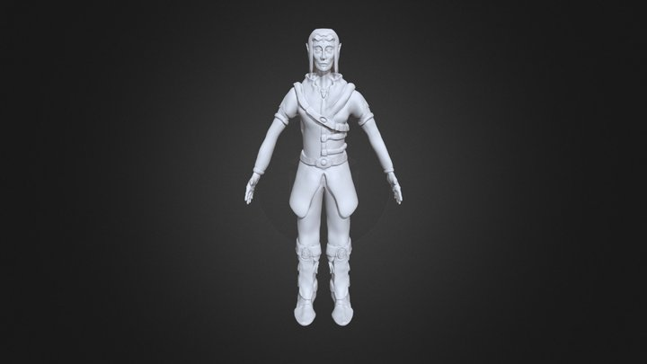Elf Sculptris 3D Model
