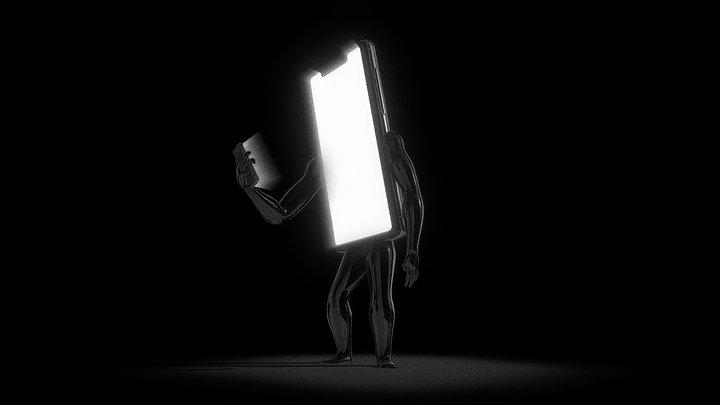 Mindless - Inctober 2nd 3D Model