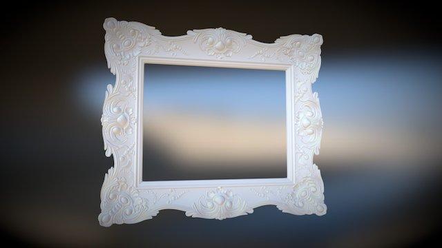 High King Frame 3D Model