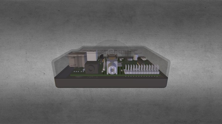 WebCurfew 3D Model
