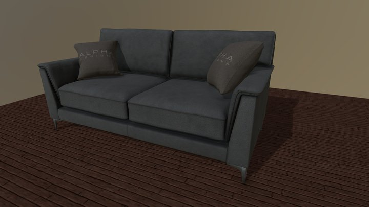 Trigano sofa 3D Model